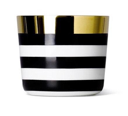 Ca' D' Oro, Cross Stripes - Champagne Goblet Fashion by SIEGER BY FÜRSTENBERG