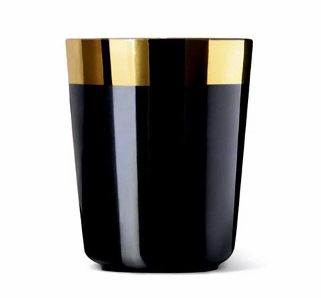 WATER BEAKER, SMOOTH (BLACK) by SIEGER BY FÜRSTENBERG