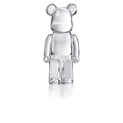 BE@RBRICK (CLEAR ONE) by BACCARAT