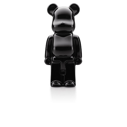 BE@RBRICK (BLACK ONE) by BACCARAT