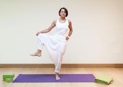 Bakoga Yoga Übung Baum