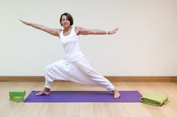 Bakoga Yoga Übung Krieger