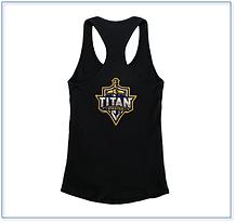 Titan woman razer black tank top.png