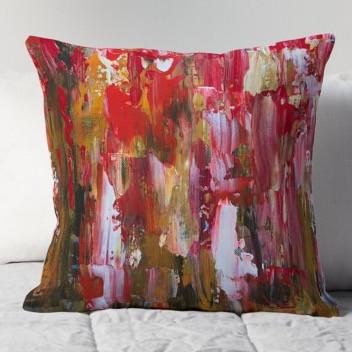 state of the unium throw pillow
