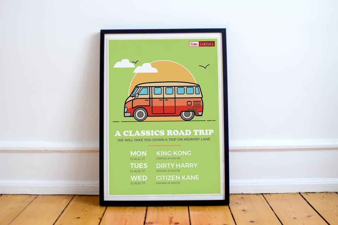 Classics Poster - Mockup