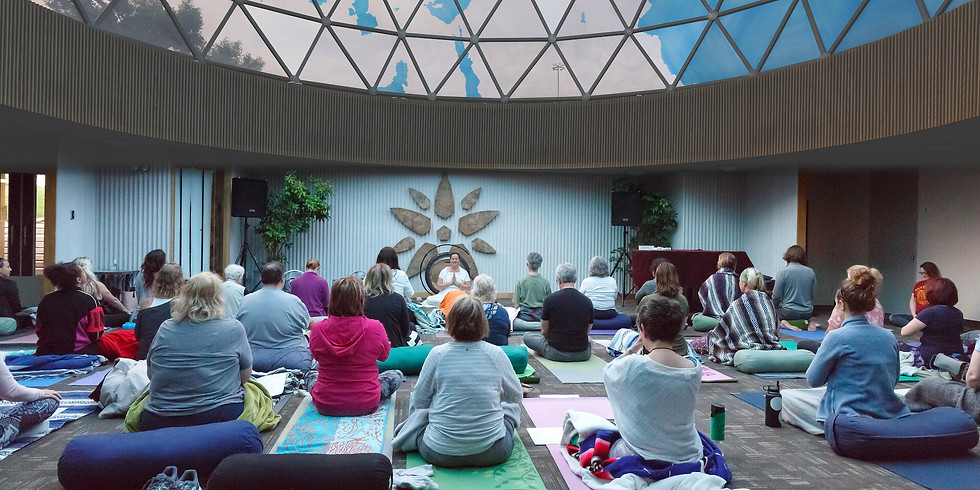 Sound Healing at the Dome with Dev