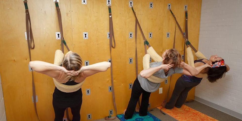 Wall Yoga Basics Workshop with Jill