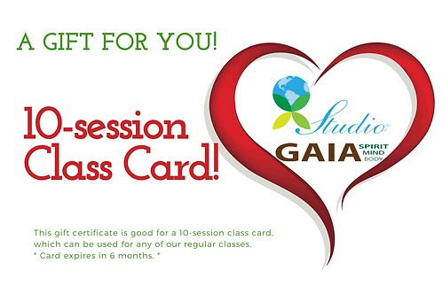 10-Session Gift Card