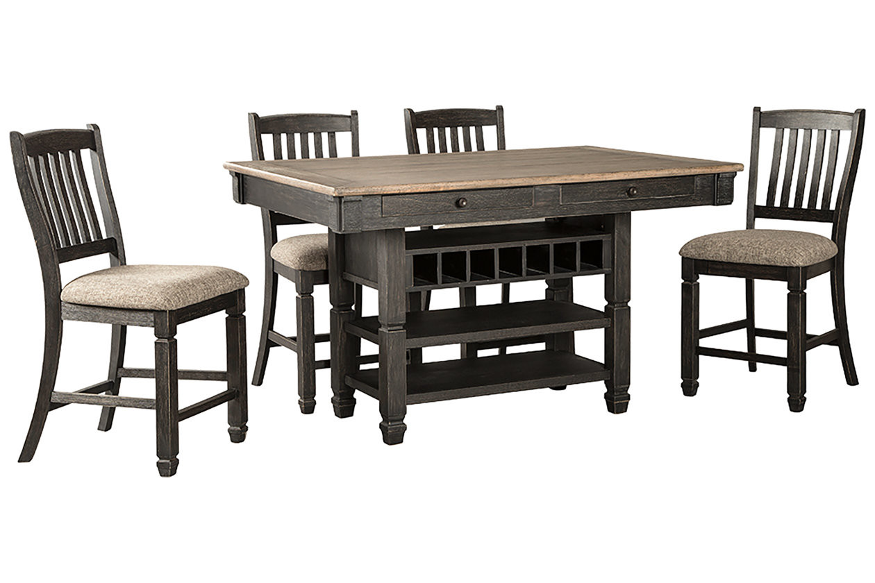 Tyler Creek 5-Piece Counter Height Dining