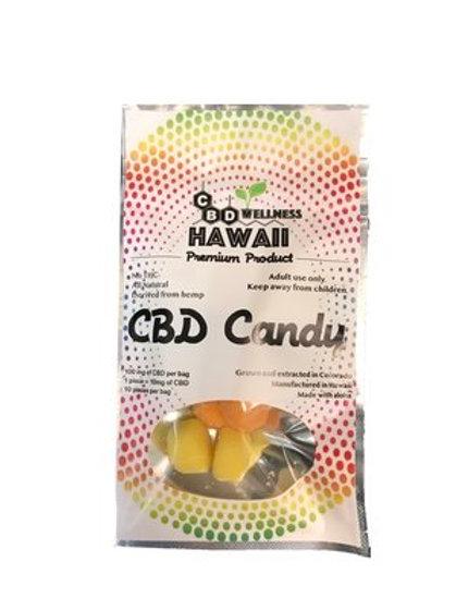 CBD Wellness Hawaii CBD Candy - Sour Poppers