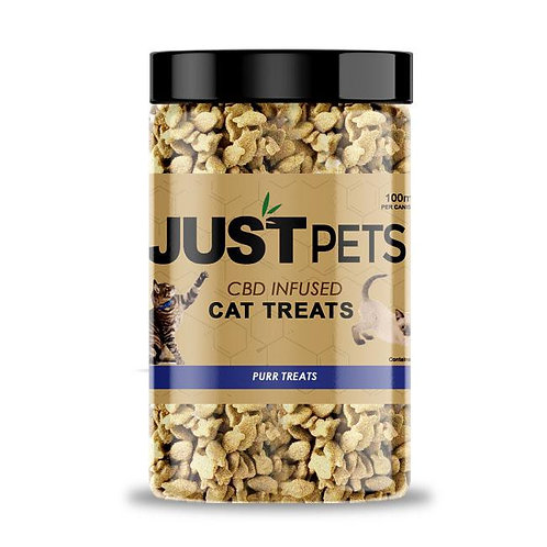 Just Pets CBD Treats For Cats