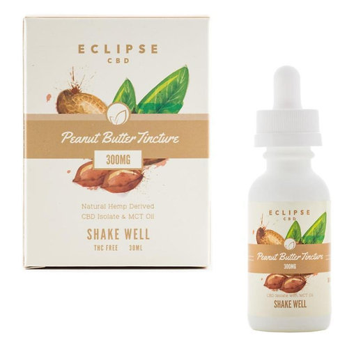 Eclipse Peanut Butter CBD Isolate Tinctures W/ MCT Oils 1000mg