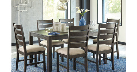 Rokane Dining Room Table and Chairs (Set
