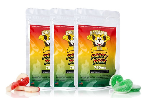 Kangaroo CBD Gummies Party Pack