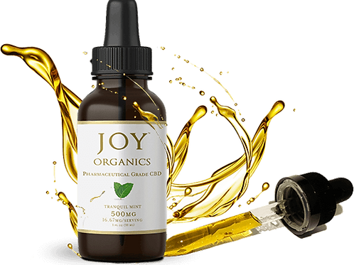Joy Organics CBD Oil Tinctures 1500mg
