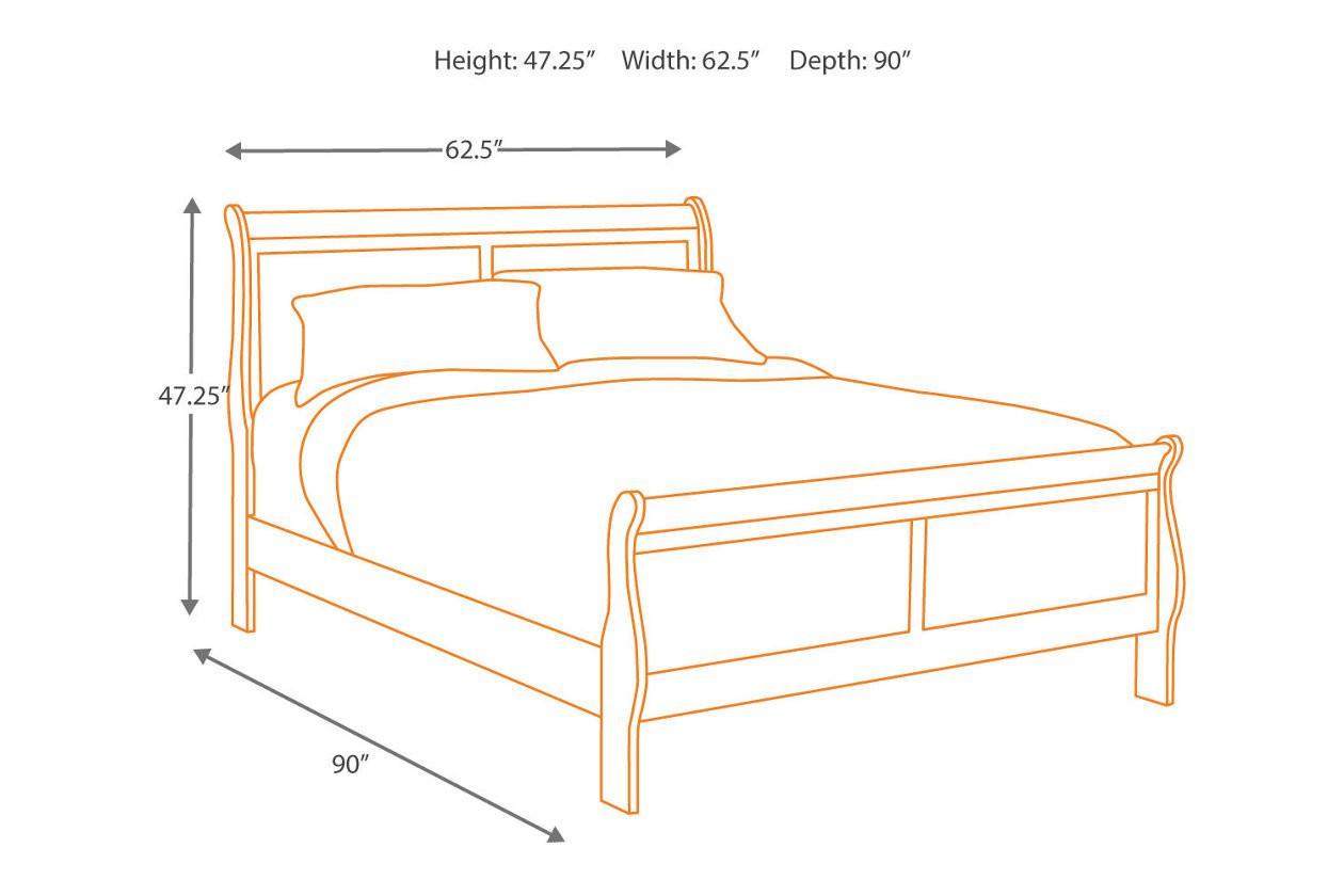 Alisdair Queen Bed with 2 Nightstands IT