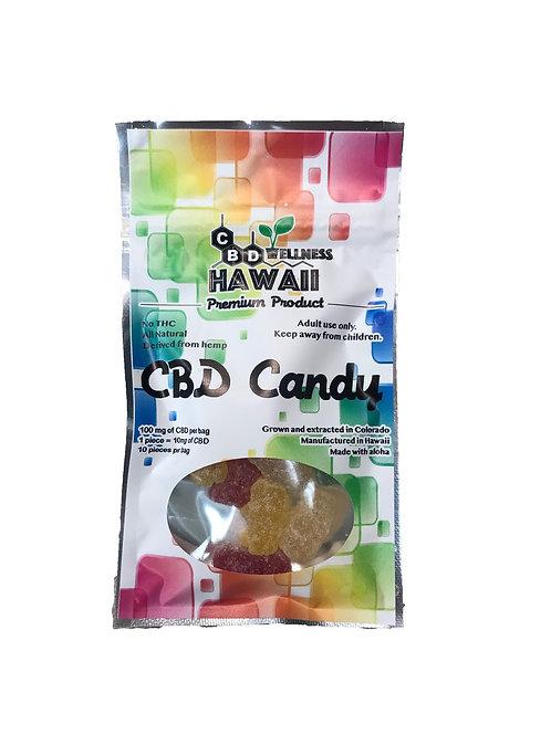 CBD Wellness Hawaii CBD Candy - Neon Gummy Bears