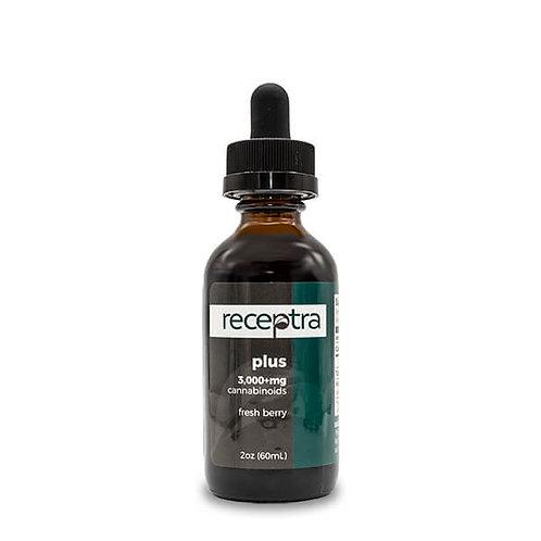 Receptra™ Plus CBD Oil 3,000mg 30mL