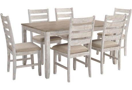 Skempton Dining Room Table and Chairs (Set of 7) ITEM# - D394-425