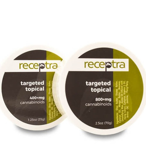 Receptra Targeted Topical™ 400mg, 800mg