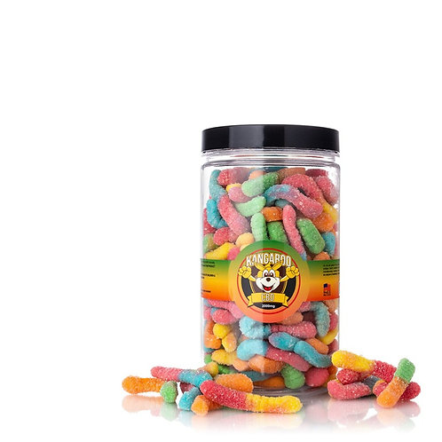 Kangaroo CBD Sour Worms