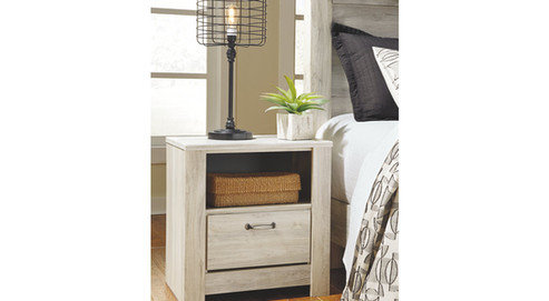 Bellaby Queen Bed with 2 Nightstands ITEM# - APG-B331-QP2