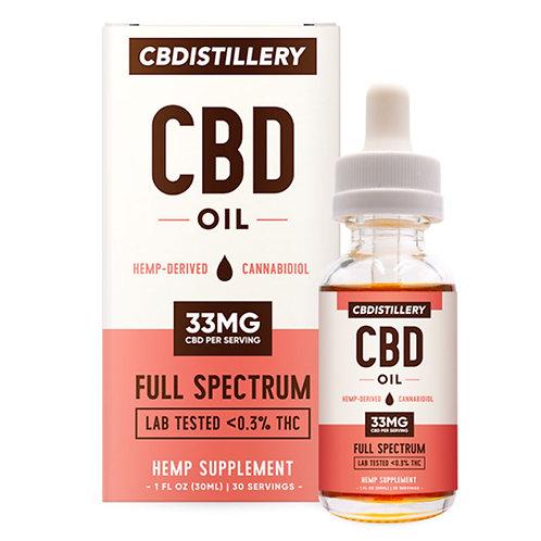 CBDISTILLERY Full Spectrum CBD Tincture