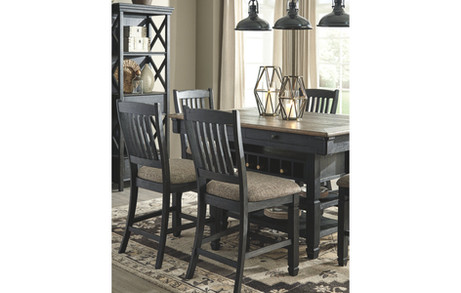 Tyler Creek 5-Piece Counter Height Dinin