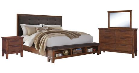 Ralene 6-Piece Queen Bedroom ITEM# - APG