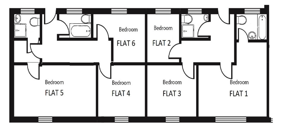 Floor Plan - Glansevin Mansion Flats
