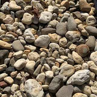 20–100mm washed pebble
