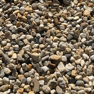20mm washed pebbles