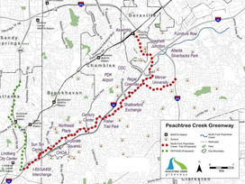 'All eyes on impact' of Peachtree Creek Greenway, say Buford Highway advocates