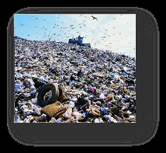 Ammonia reduction landfills