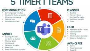 Online kursus: Få styr på organisationens hjemmearbejde i Microsoft Teams
