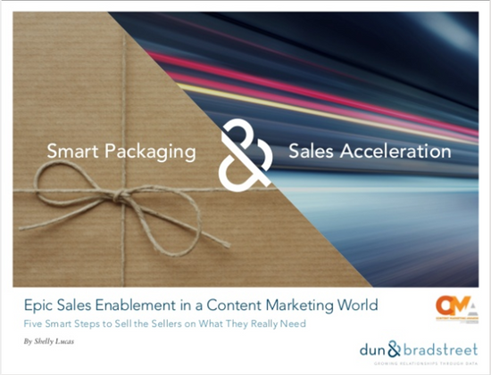 Epic Sales Enablement in a Content Marketing World