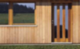 木造住宅の入り口