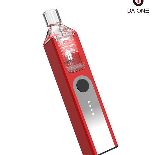 DA ONE Tech 550 mAh Boxy Starter Kit - Rebellious Red