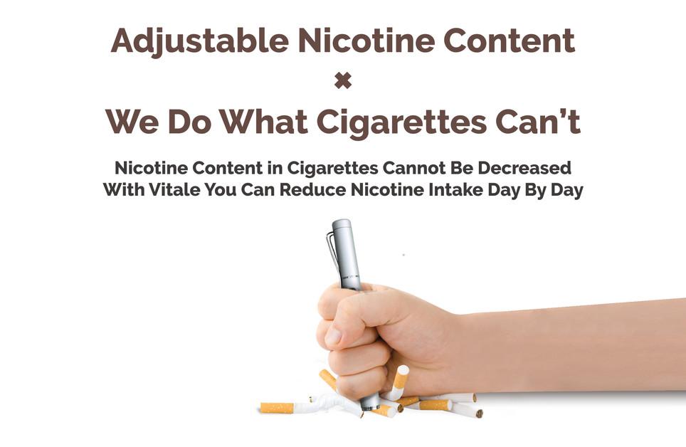 03.Adjustable Nicotine Content X We Do W