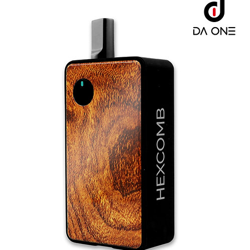 {US WAREHOUSE} DA ONE Tech 1300 mAh Hexcomb AIO Kit - Wood/Tax Included