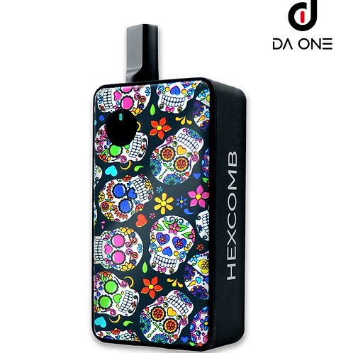 {US WAREHOUSE} DA ONE Tech 1300 mAh Hexcomb AIO Kit - Sugar Skull/Tax Included