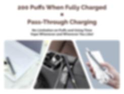 12.Pass Through Charging X Limitless Vap