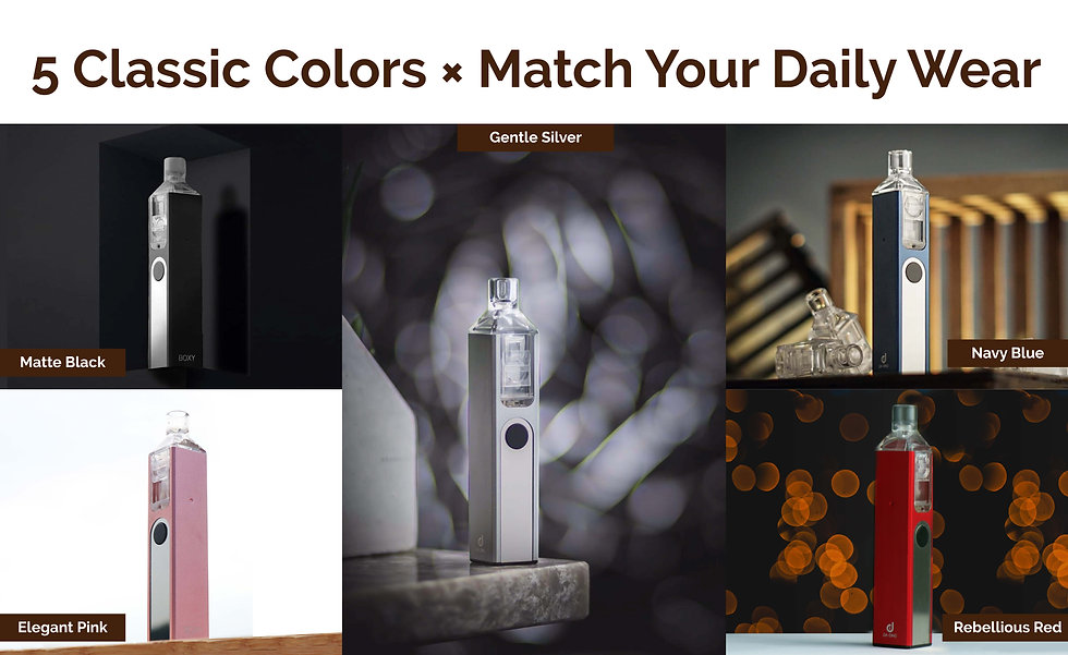 12.- 5 Classic Colors X Match Your Daily