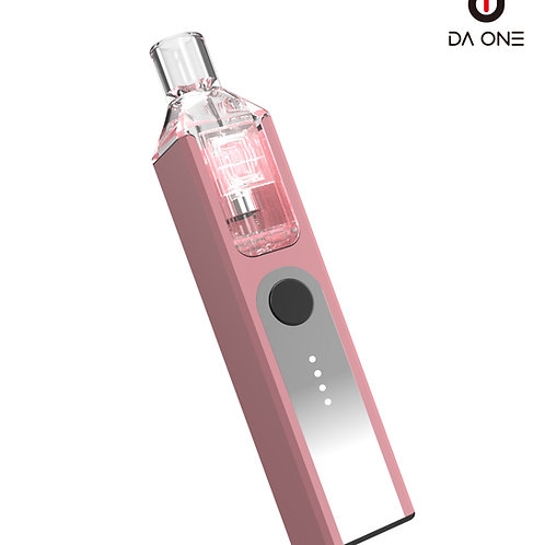DA ONE Tech 550 mAh Boxy Starter Kit - Elegant Pink