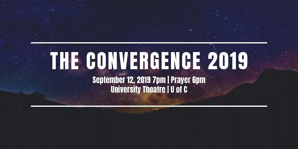 The Convergence at U of C in September
