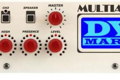 DV Mark Multiamp Digital Guitar Amp Head, Stereo, Red Knobs