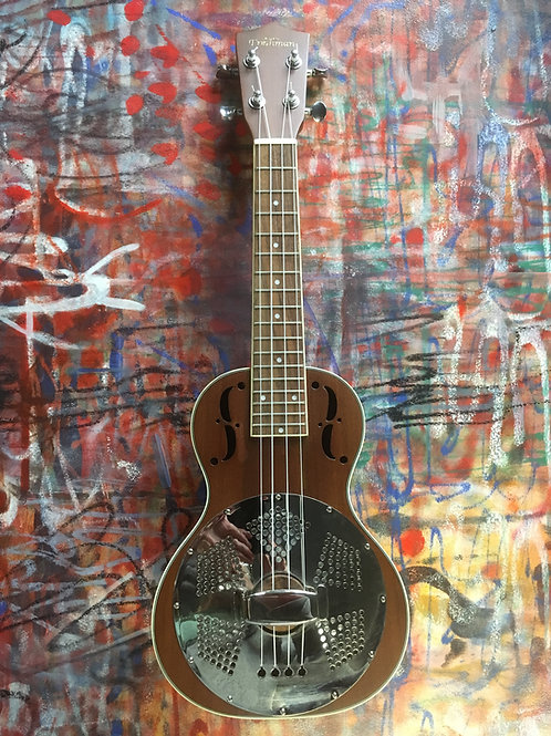 FRESHMAN RESONATOR UKULELE  UKWOODRES(NEW)