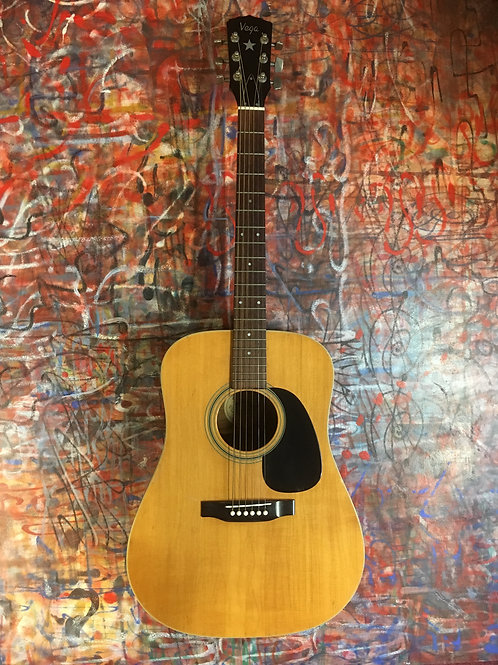VEGA DREADNOUGHT EARLY 70'S MADE IN HOLLAND