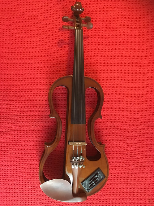Electric violin, faulty electrics, 4/4 size