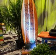 Customizable surfboard Flat